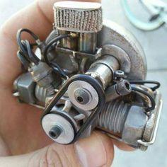 The smallest Typ 1 Motor ! Awesome art by Rafael Cárdenas Vélez.