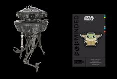 hallmark-2020-event-exclusive-ornaments  Hallmark has revealed their assortment of 2020 Event Exclusive products and Star Wars is featured on two of their designated items. They will have an Imperial Probe Droid Keepsake Ornament ($35) and The Child PXL8 Enamel Pin ($8) for fans to collect. Both of these items will be available to purchase later this year at San Diego Comic-Con, Star Wars Celebration Anaheim, and New York Comic Con. Click each image below for a closer look at each item.