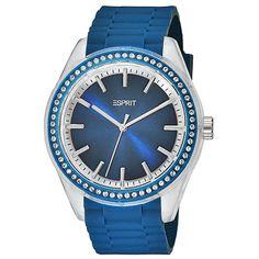 Esprit Ladies Watch Play Winter Blue Silicon ES900692002
