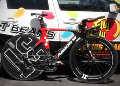 Team Jelly Belly's Argon 18 E-118, Tour of California - 2014