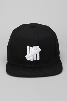 Undefeated 5 Strikes Snapback Hat  UrbanOutfitters Tomboy Fashion 3c1cbfe97992