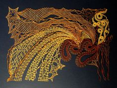 Bobbin Lacemaking, Lace Art, Lace Jewelry, Needle Lace, Lace Detail, Fiber Art, Hand Embroidery, Felt, Paintings