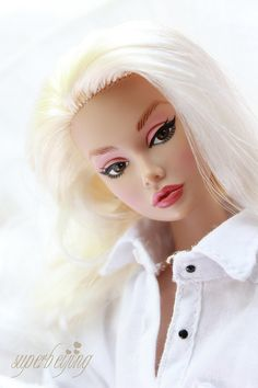 "fashion doll, platinum hair, ""Baby It's You"""
