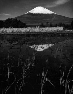 Werner Bischof (1916-1954) Mount Fuji, Japan - 1951 Source : Magnum photos