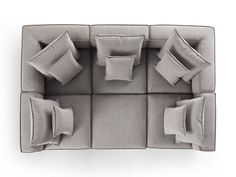 Coburn Six Piece Pit Sectional | Arhaus Pit Couch, Pit Sectional, Comfy Sectional, Deep Sectional, Cozy Couch, Spacious Living Room, Cozy Living Rooms, Family Room Furniture, Cool Furniture