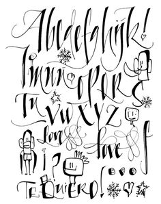 687 Best Cool Lettering Images On Pinterest