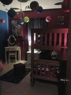 Monster High Girls Bedroom