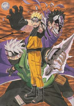 Naruto color spread