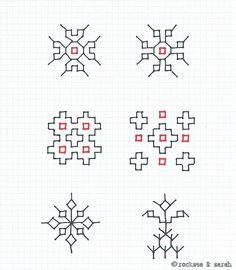 Kasuti patterns