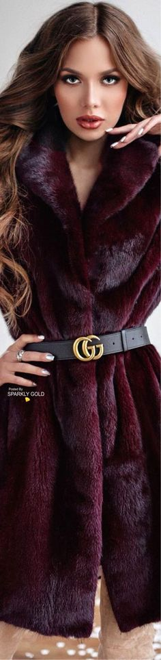 Shades Of Burgundy, Burgundy Wine, Burgundy Color, Burgundy Fashion, Fur Fashion, Marsala, Color Wheel Fashion, Her Style, Cool Style