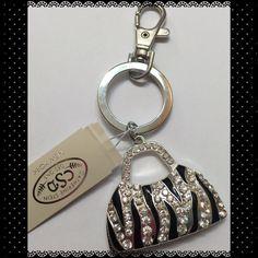 Handbag Keychain If you love handbags like I do. You don't wanna pass up this beautiful handbag keychain by Catherine Stein Catherine Stein Accessories Key & Card Holders