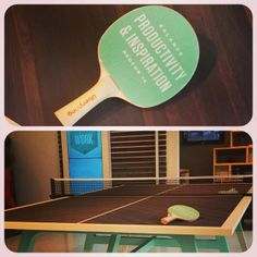 Ping pong or conference room table? We like it both ways. @OFS Brands @ #NeoCon. #NeoCon14 #Neoconography