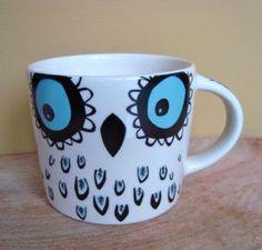 Owl Mug  Hannah Turner