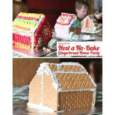 Two simple tricks for making hosting a gingerbread house party easy!