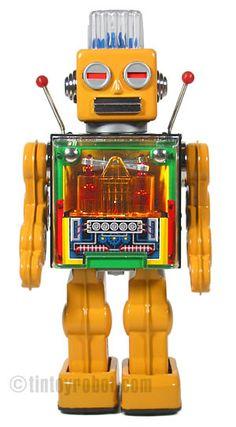 engine robot