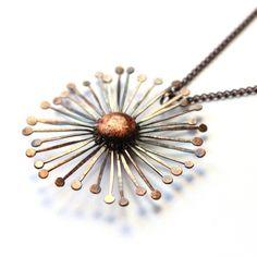 A pure copper dandel