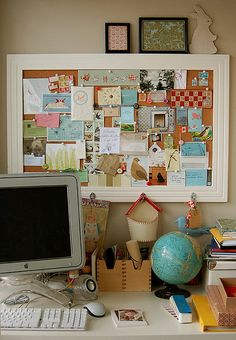 I love the pinboard!