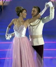 Derek Hough & Amy Purdy  -  Waltz  -  Dancing With the Stars  -  week 5  Disney Night   -  season 18   -  April 14, 2014.