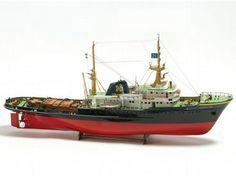BB592 - #Zwarte #Zee  The Zwarte Zee wooden ship model is an accurate recreation of the real life vessel built in 1963 at J. & K. Smit's Scheepswerven N.V. in Kinderdijk  http://www.castyouranchorhobby.com/ecom-prodshow/BB592.html