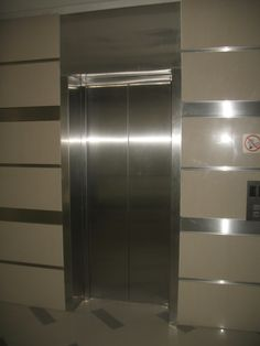 Flamez mall Steel cladding for lift