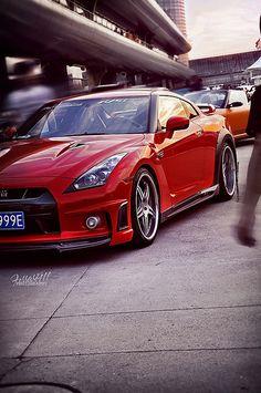 "automotivated: ""Nissan GT-R (by 李鱼 "" Nissan Gtr R35, Nissan Gtr Skyline, Nissan Infiniti, Transporter, Japanese Cars, Jdm Cars, Sexy Cars, Sport Cars, Dream Cars"