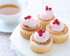 pomegranate chiffon cakes