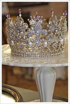 Princess Stephanie's Amethyst & Diamond Tiara