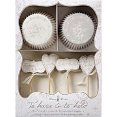 To Have and To Hold Cup Cake Kit