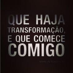 #autoajudadodia por Ciça Ribeiro! A @Ciça Fabrizio nos lembra que, para transformar o que quer que seja, precisamos olhar para nós mesmos e fazer com que a mudança comece. Inspirador!