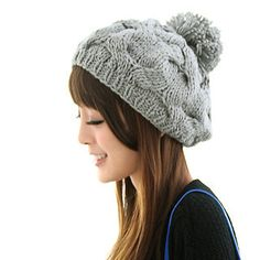 Cable-Knit Beret  by 59 Seconds
