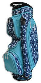All For Color Indigo Batik Ladies Golf Bag Golf Attire, Golf Outfit, Golf Headcovers, Ladies Golf Bags, Girls Golf, Golf Lessons, Golf Fashion, Play Golf, Golf Carts