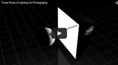 In this short video by Ed Vorosky he covers three rules about the behaviour of light. When you understand these principles you can then use them better in your photography. Light travels in straight lines The subject receives less light as the distance to the light source is increased The larger the light source relative …