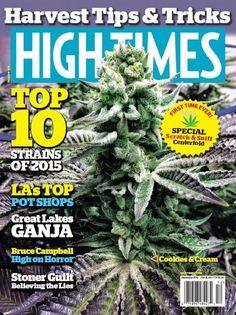 High Times PDF MaGaZiNe December 2015 medical marijuana cannabis PDF