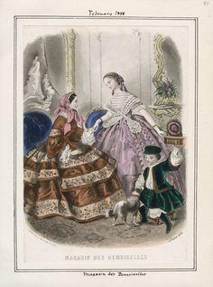 Magasin des Demoiselles February 1858 LAPL