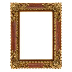 Spanish Hand-carved Baroque-style Frame