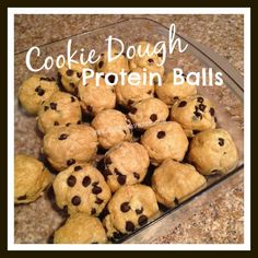 protein, cookie dough protein balls, nutrition, 21 day fix, Max:30, Team Beachbody, Shakeology