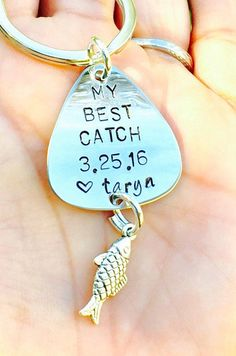 Fishing Keychain Fishing Boyfriend Gift Father's Day