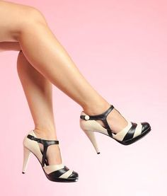 Love me some t-strap shoes.
