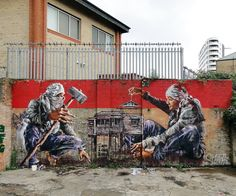 He grew up in West End, where graffiti was a big part of the urban landscape. | 27 Jaw Dropping Works Of Street Art So Big They Will Never Fit In A Gallery