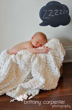 Baby Sleeping....zzzzz Newborn Portrait Ideas