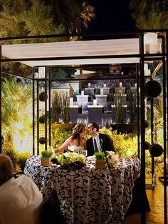 An Un-Vegas Vegas Wedding | Style Me Pretty