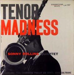 Sonny rollins - Tenor Madness - Prestige Records PRLP-7047