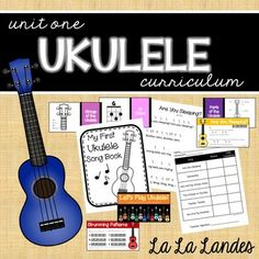 """Sequential. Succinct. Successful. This is the teaching method that includes everything you need without the extra """"fluff"""" you won't use. My unit contains all the materials you need to start your beginning ukulele players out right! Unit One contains:"""