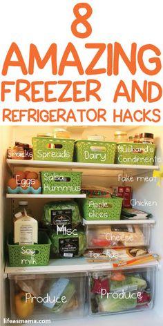 8 Amazing Freezer And Refrigerator Hacks