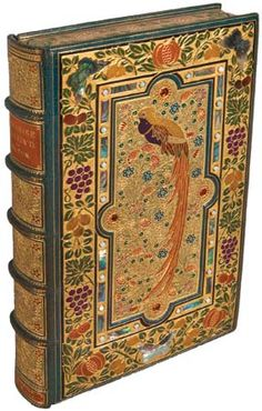 Milton, John: Paradise Regained An edition of John Milton's Paradise Regained; the binding, which includes mother-of-pearl, was done by Sangorski & Sutcliffe, a firm known for extravagant jeweled bindings. \ bookbinding | Britannica.com