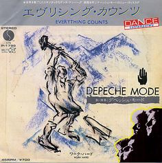 "Depeche Mode - Everything Counts (Japanese 7"")"