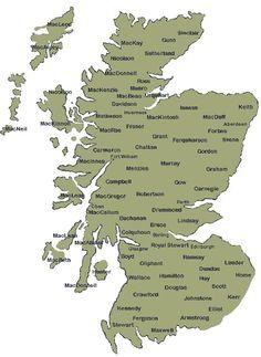 A clan map.