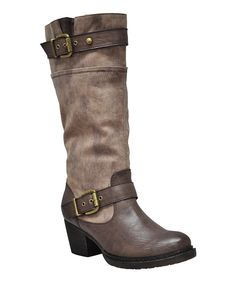 Take a look at this Brown Slowmotion Boot on zulily today!