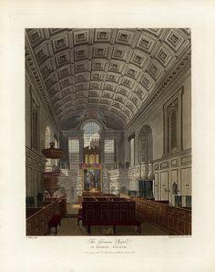 German Chapel, St James's Palace, from Pyne's Royal Residences, 1819 - panteek py107-331.jpg