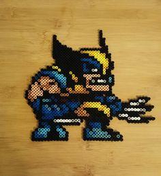 Perler Bead Marvel Wolverine Wall Decoration by CGPerlen